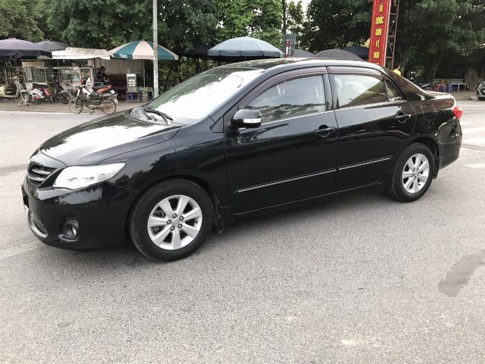 Toyota Corolla altis 1.8G năm sản xuất 2011, màu đen. Xe Cực Tuyển 1