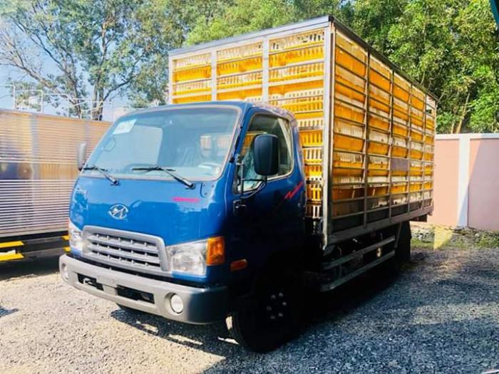 Xe tải chở Gia Cầm MIGHTY 2017 tải 6.8 tấn chứa được 189 lồng - Trả Góp 1