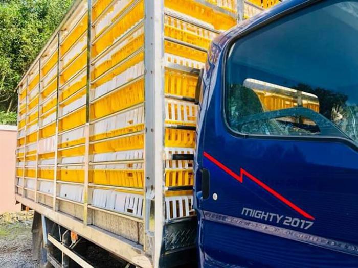 Xe tải chở Gia Cầm MIGHTY 2017 tải 6.8 tấn chứa được 189 lồng - Trả Góp 2