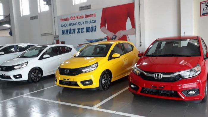 Honda Brio bảng giá xe ô tô Honda brio 2019 nhập khẩu nguyên chiếc TPHCM