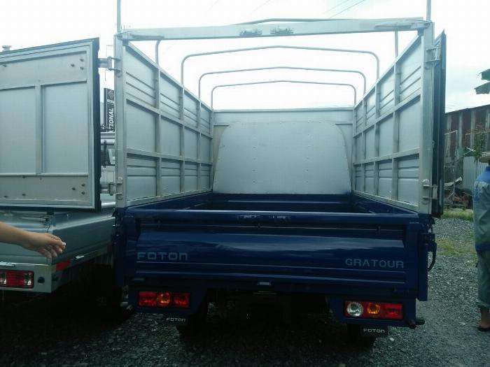 Foton thùng bạt, tải trọng 850kg chất lượng Nhật Bản 3