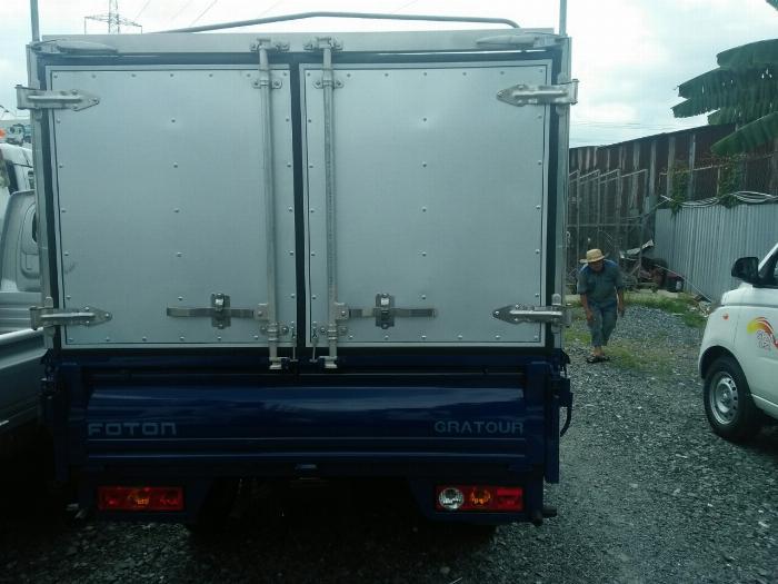 Foton thùng bạt, tải trọng 850kg chất lượng Nhật Bản 4