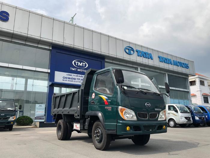 Ben TMT 2T4 Máy Hyundai - Giá Xe Ben 2 Tấn 4 2019 Hỗ Trợ Vay 80% - Bán Xe Ben 2.4 Tấn 0
