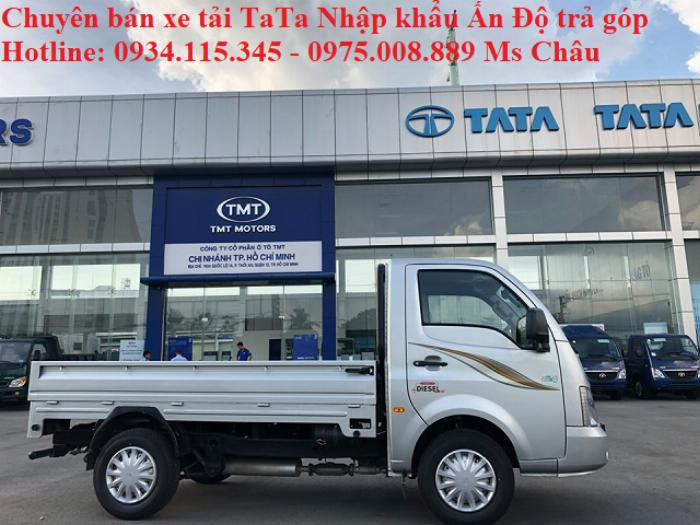 Xe Tải Tata 1.2 Tấn/ tata 1t2 thùng lững Nhập Khẩu nguyên chiếc Ấn Độ Euro4.