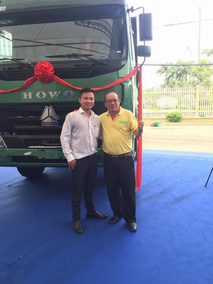 Công Ty Cổ Phần Phân Phối Sinotruk Việt Nam đối tác VIP xe ben Howo trên MuaBanNhanh