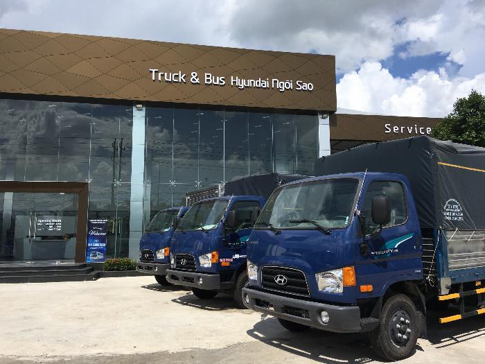 Xe tải Hyundai 7 tấn 110S,trả 160tr giao xe 4