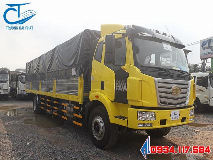 Bán xe tải Faw thùng siêu dài 9m6 - tải trọng 7T2 - giá siêu tốt 2
