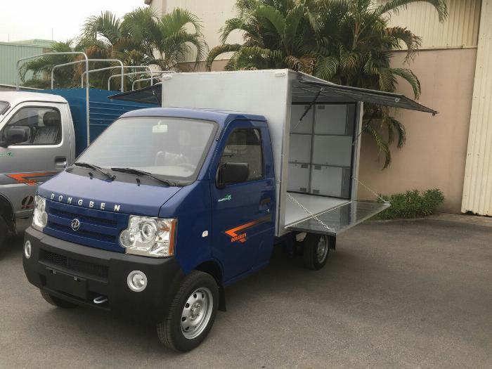 Xe tải DONGBEN 870kg,trả trước 10tr nhận ngay xe,xe đời 2018 1