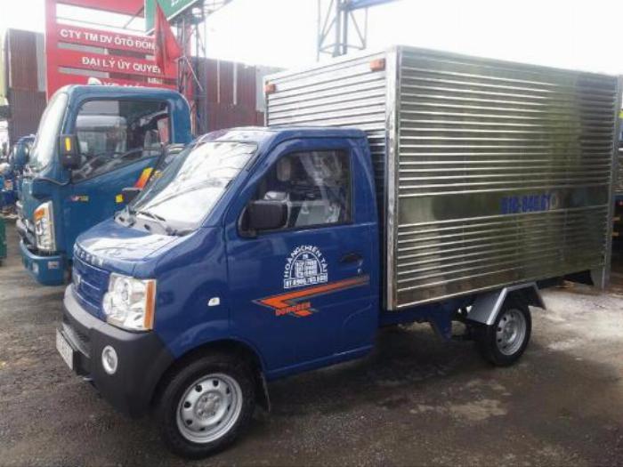 Xe tải DONGBEN 870kg,trả trước 10tr nhận ngay xe,xe đời 2018 0