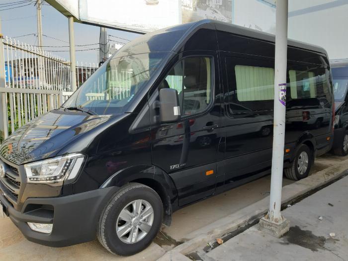 Báo Giá Xe Hyundai Solati Limousine 10 ghế , Solati Limousine Trả Góp 80%