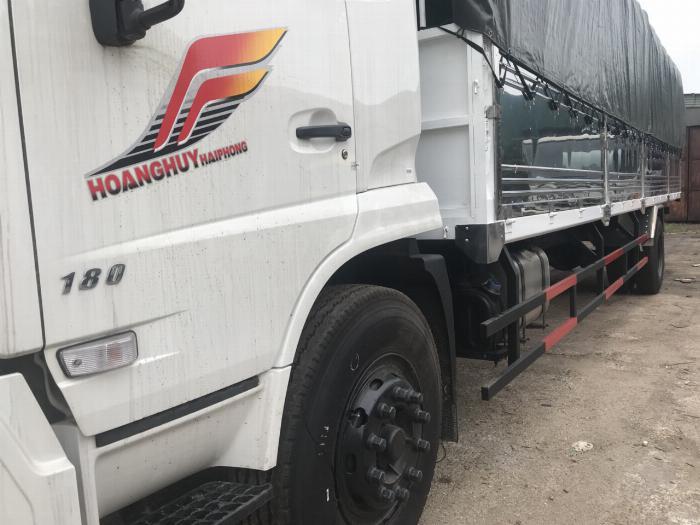 Xe tải thùng B180 Dongfeng Hoang Huy 1
