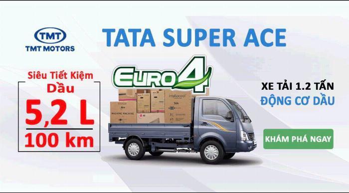 Xe tải 1t2 tata super nhập khẩu Ấn Độ 12