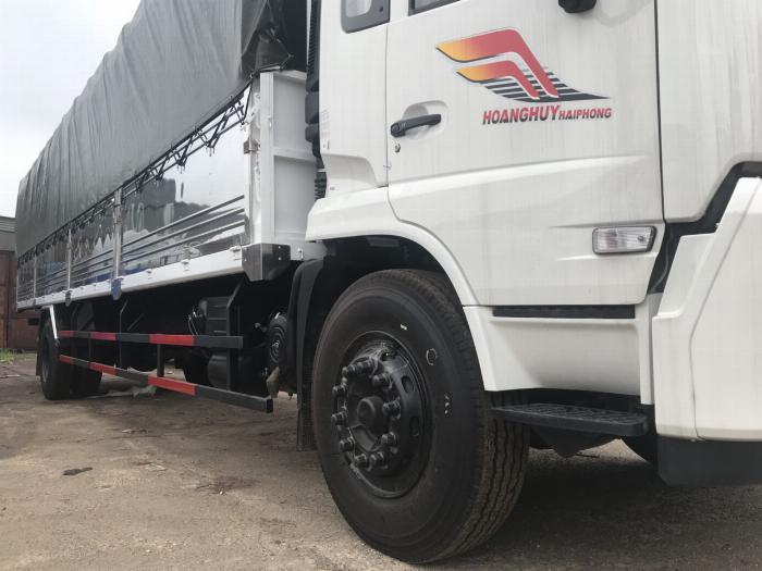 Xe tải thùng B180 Dongfeng Hoang Huy 2