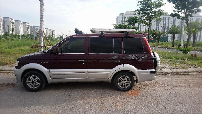 Bán xe Jolie màu đỏ mận đời 2003 giá 130 triệu tại Hà nội