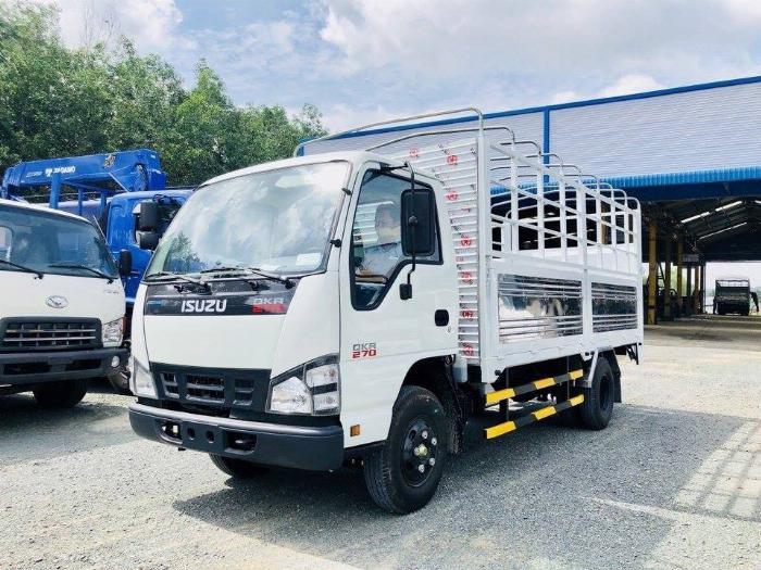 Xe tải ISUZU tải 1.9 tấn thùng mui bạt bửng bâng dài 4.3m -Trả Góp
