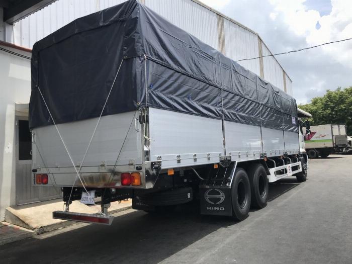 Xe tải HINO FL 3 chân 2017 (GA CƠ) thùng mui bạt bửng nhôm tải 15 tấn - Trả Góp 3