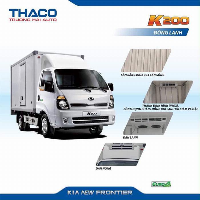 Xe tải Thaco KIA K200/K250, tải nhẹ chạy trong tp, hỗ trợ vay 75% 3