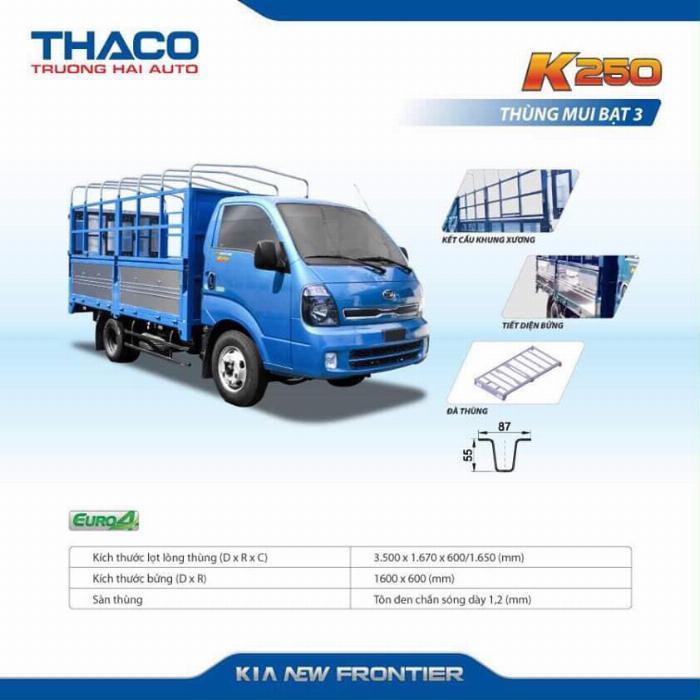 Xe tải Thaco KIA K200/K250, tải nhẹ chạy trong tp, hỗ trợ vay 75% 7