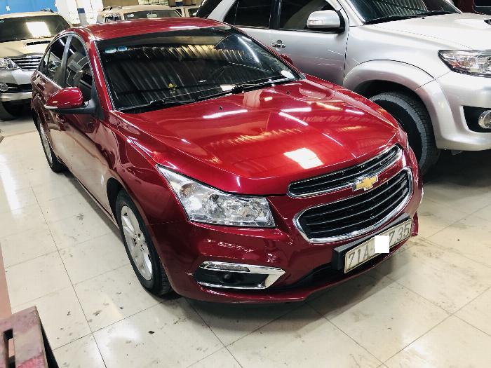 Cruze LT, 2016, màu đỏ, số sàn, mua bán tại hãng