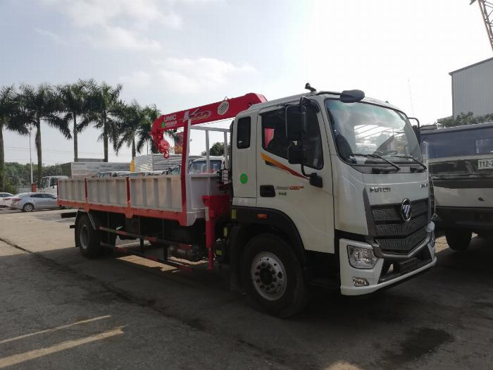 Xe Cẩu tự hành Thaco Auman C160 euro4 2019 gắn cẩu unic340 4 khúc