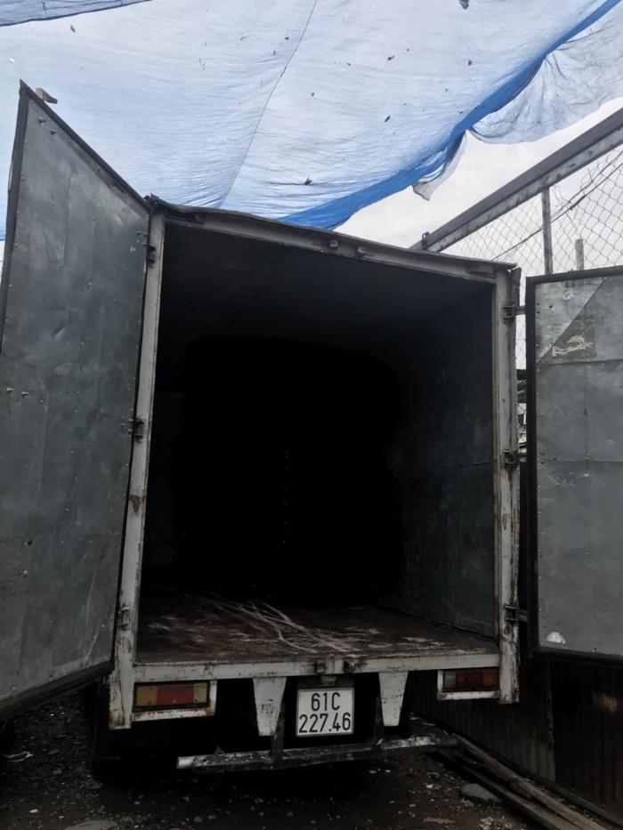 xe tải MITSU 1.54 THÙNG 4.52M