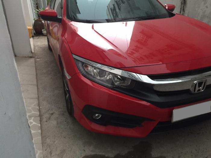 Bán Honda Civic 2018 tự động bảng 1.8 màu đỏ xe gia đình đi kỹ. 1