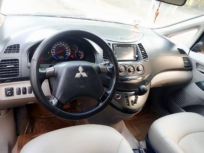 Bán Mitsubishi Grandis 2005 tự động màu đỏ xe gia đình sử dụng 5