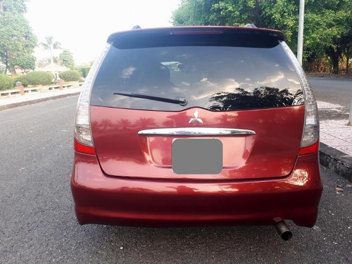 Bán Mitsubishi Grandis 2005 tự động màu đỏ xe gia đình sử dụng 6