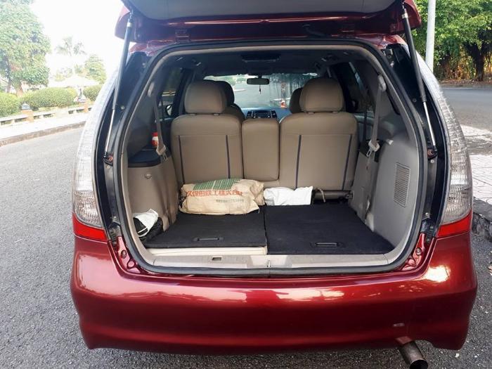 Bán Mitsubishi Grandis 2005 tự động màu đỏ xe gia đình sử dụng 7