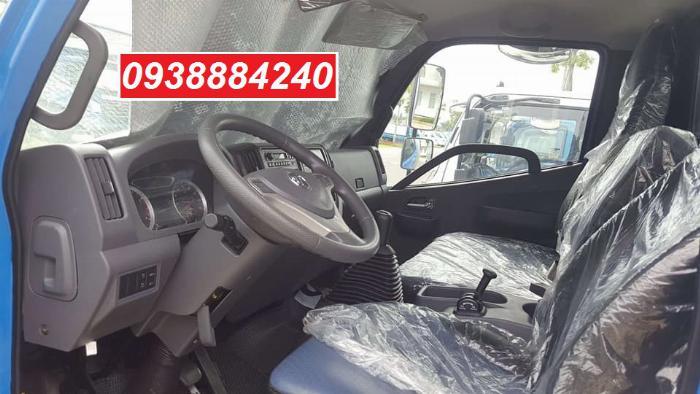 Bán trả góp xe tải Thaco Ollin700.E4 ga điện 7 tấn thùng 5.8 mét Long An Tiền Giang Bến Tre (xe trường lái) 7