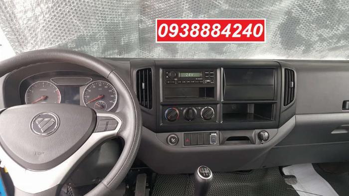 Bán trả góp xe tải Thaco Ollin700.E4 ga điện 7 tấn thùng 5.8 mét Long An Tiền Giang Bến Tre (xe trường lái) 9