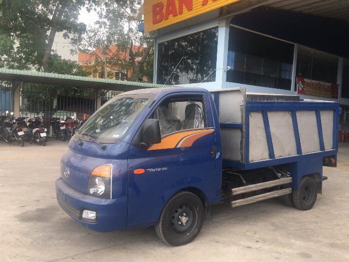 Xe tải Chuyên Dùng CHỞ RÁC HYUNDAI H150 tải 1.2 tấn ( 3.72 khối ) - Trả Góp 0