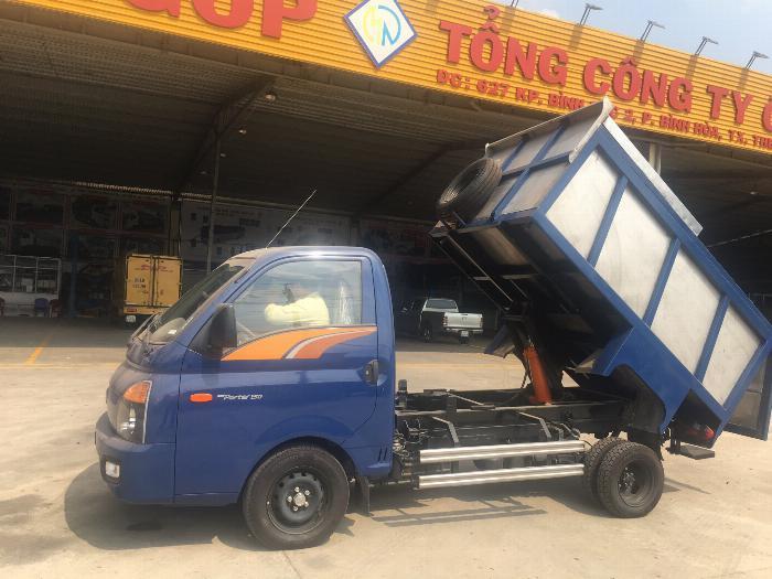 Xe tải Chuyên Dùng CHỞ RÁC HYUNDAI H150 tải 1.2 tấn ( 3.72 khối ) - Trả Góp 1