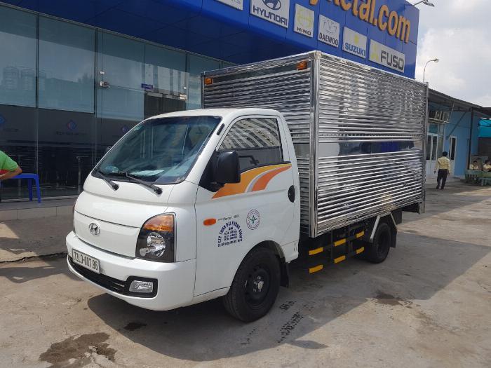 Xe tải HYUNDAI H150 2019 thùng kín tải 1.5 tấn - Trả Góp 0
