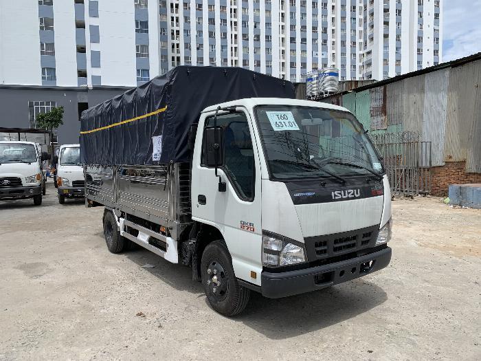 Xe tải ISUZU tải 1.9 tấn - 2.5 tấn - 2.8 tấn thùng bạt dài 4.3m - Trả Góp 1