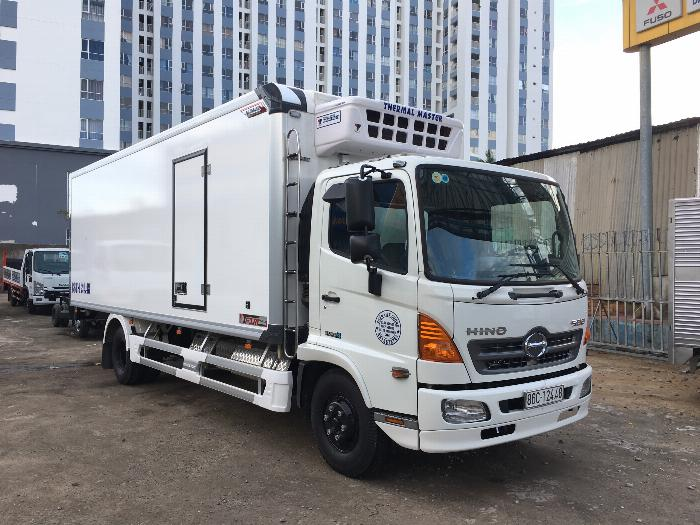 Xe tải HINO FC 2019 thùng QUYỀN AUTO Đông Lạnh tải 6.5 tấn - Trả Góp