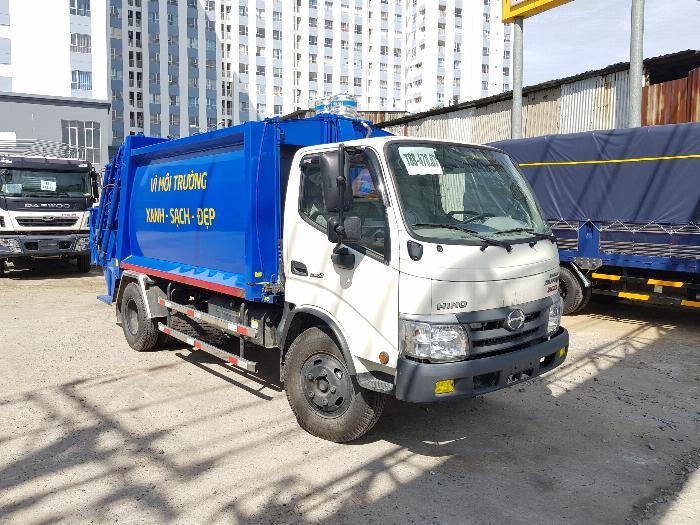 Xe tải Chuyên Dùng CHỞ RÁC HINO DUTRO XZU342L (6 khối)- Trả Góp 1