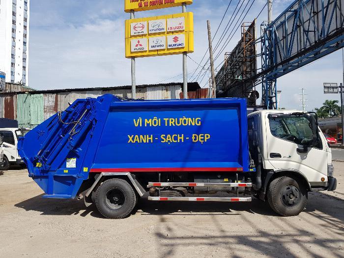 Xe tải Chuyên Dùng CHỞ RÁC HINO DUTRO XZU342L (6 khối)- Trả Góp 2
