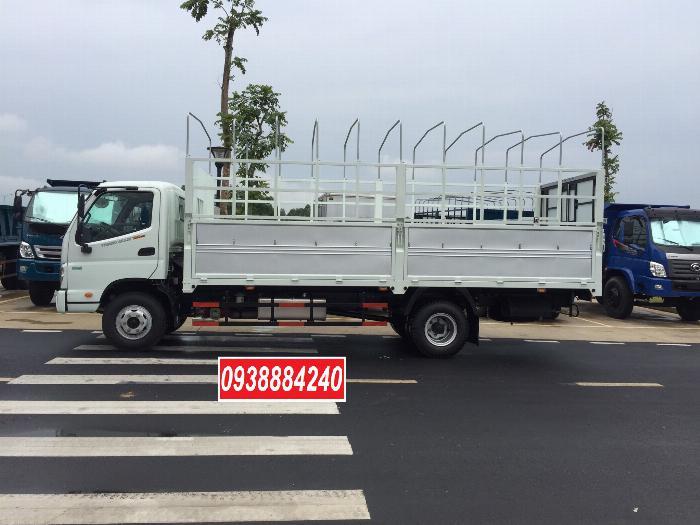 Bán trả góp xe tải Thaco Ollin700.E4 ga điện 7 tấn thùng 5.8 mét Long An Tiền Giang Bến Tre (xe trường lái) 3