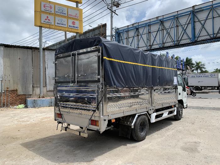 Xe tải ISUZU tải 1.9 tấn - 2.5 tấn - 2.8 tấn thùng bạt dài 4.3m - Trả Góp 4