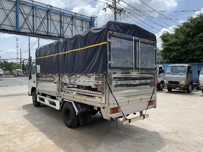 Xe tải ISUZU tải 1.9 tấn - 2.5 tấn - 2.8 tấn thùng bạt dài 4.3m - Trả Góp 5