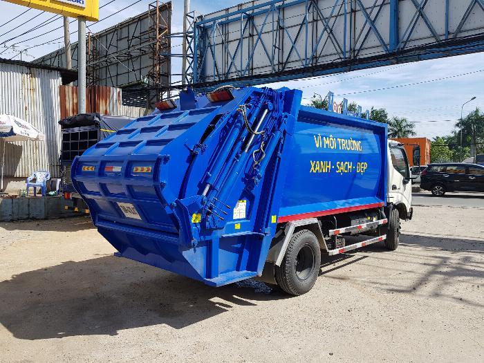 Xe tải Chuyên Dùng CHỞ RÁC HINO DUTRO XZU342L (6 khối)- Trả Góp 4