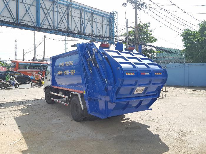 Xe tải Chuyên Dùng CHỞ RÁC HINO DUTRO XZU342L (6 khối)- Trả Góp 5