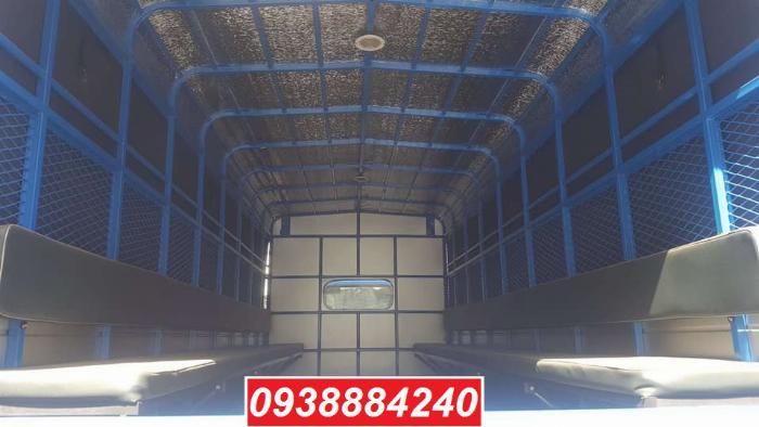 Bán trả góp xe tải Thaco Ollin700.E4 ga điện 7 tấn thùng 5.8 mét Long An Tiền Giang Bến Tre (xe trường lái) 6
