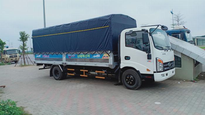 Xe tải Veam Vt260-1 tải trọng 1,9 tấn thùng dài 6m1 động cơ ISUZU công suất 109Ps