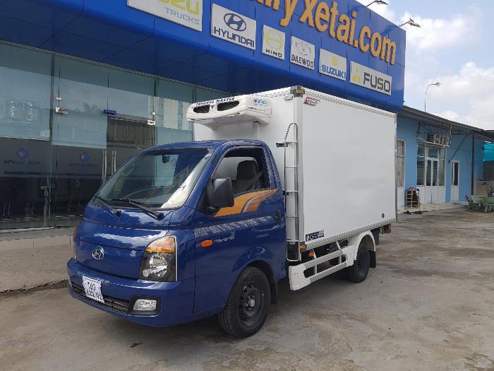 Xe tải thùng ĐÔNG LẠNH QUYỀN HYUNDAI H150 tải 1.5 tấn -Trả Góp 0