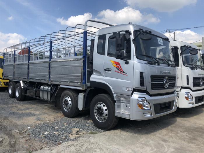 giá xe tải dongfeng 4 chân ga cơ-hỗ trợ trả góp 4