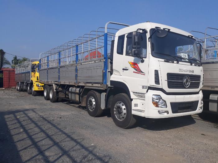 giá xe tải dongfeng 4 chân ga cơ-hỗ trợ trả góp 5