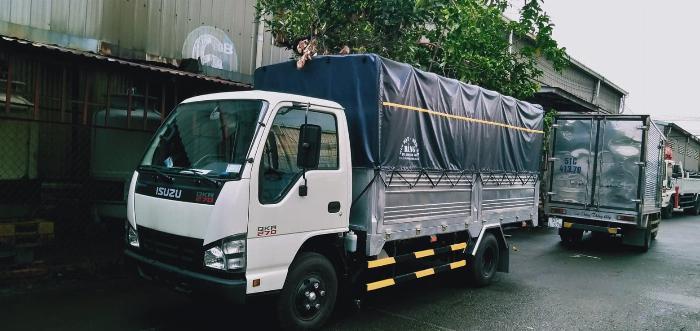 xe tải isuzu 2t9 thùng bạt đời 2019