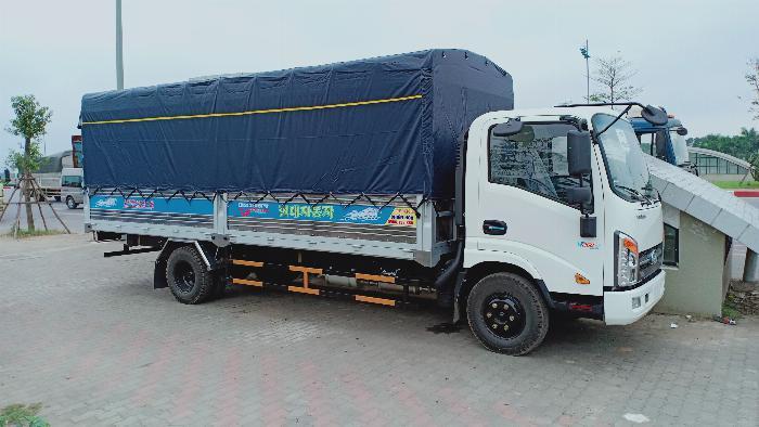 Bán xe tải VEAM VT340s-1 trọng tải 3,5 tấn thùng dài 6m1, động cơ ISUZU